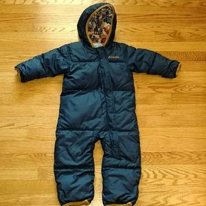 Columbia infant snowsuit/bunting 18-24 months
